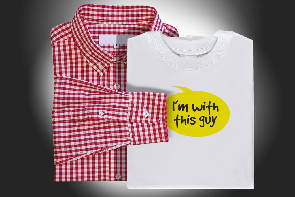 Co-Branding is an effective Promotional Product Strategy. It says 'I'm with this guy!'