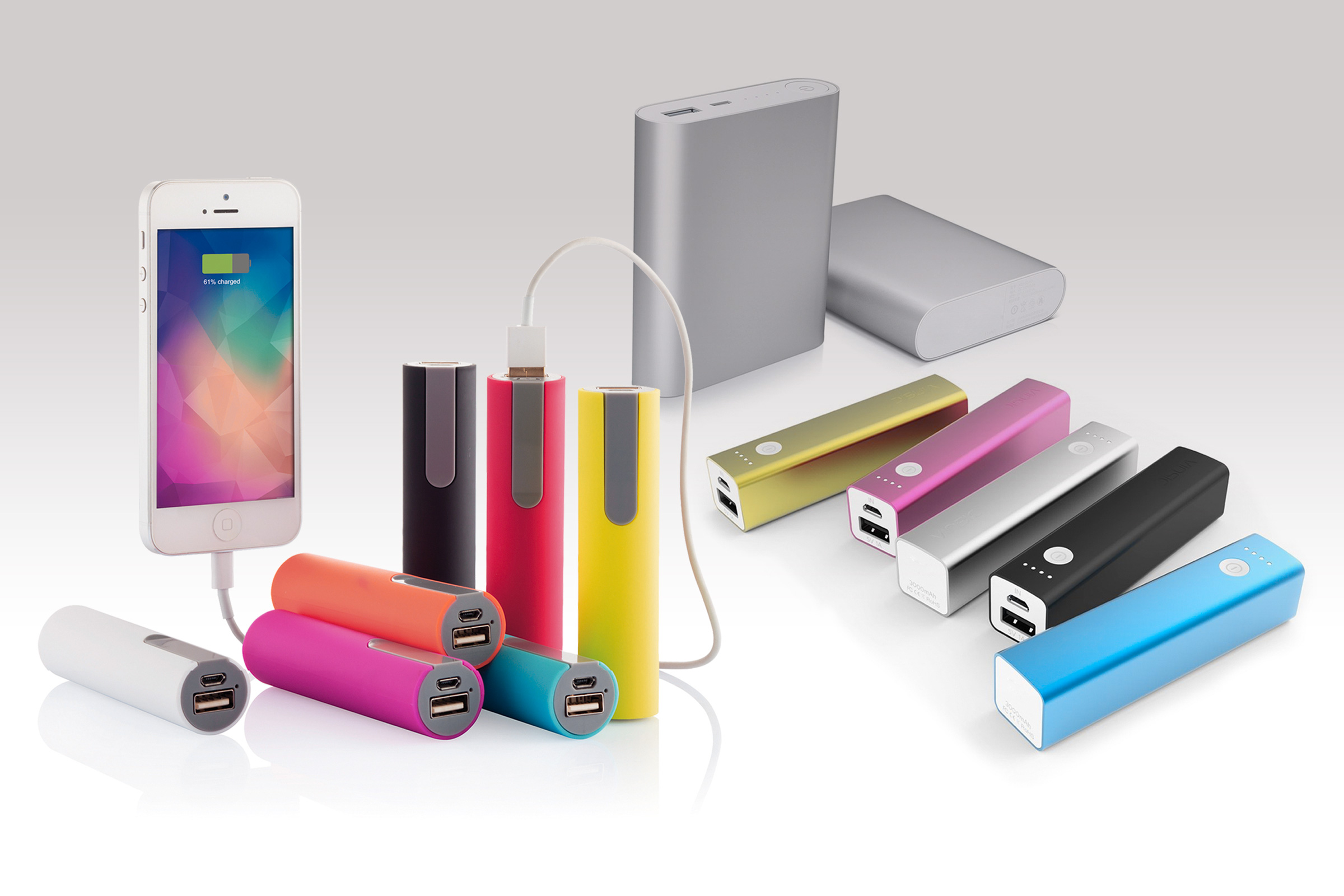 Power banks often use lithium batteries as a power source.