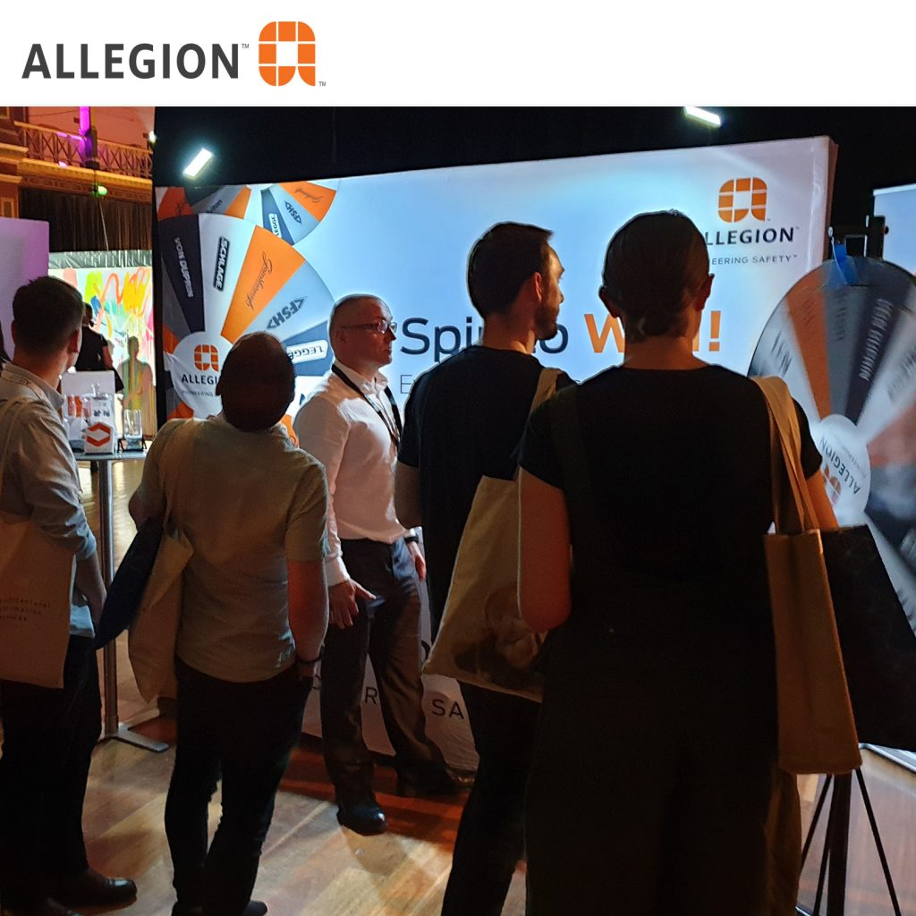 Case Study on Allegion trade show